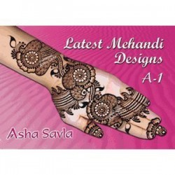 Latest Mehandi Designs A1 de Asha Savla