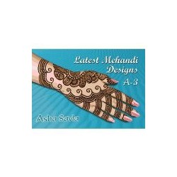 Latest Mehandi Designs A3 de Asha Savla