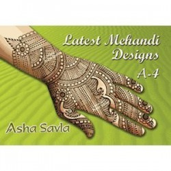 Latest Mehandi Designs A4 de Asha Savla