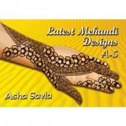 Latest Mehandi Designs A5 de Asha Savla
