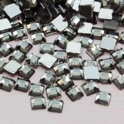 10 carrés tanzanite 4mm