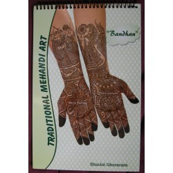 Bandhan Traditional Mehandi Art de Bhavini Gheravara