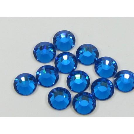 Sachet de cristaux de swarovski bleu capri ss9