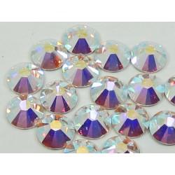 Sachet de cristaux de swarovski 2.6 mm argent irisé ss9