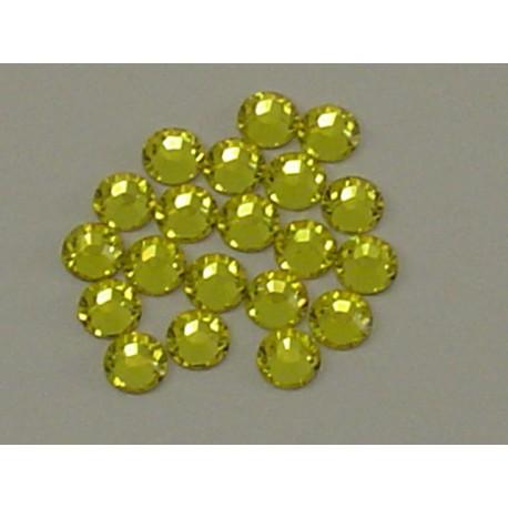 Sachet de cristaux de swarovski citrine 2.6mm ss9