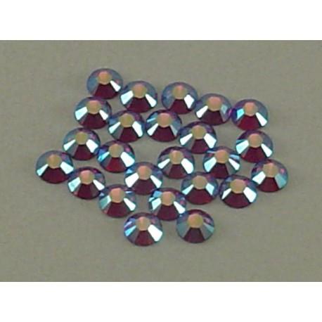 Sachet de cristaux de swarovski fuchsia irisé 2.6mm ss9
