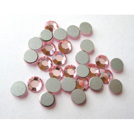 Sachet de cristaux de swarovski rose vintage 2.6mm ss9