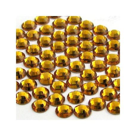 Sachet de cristaux de swarovski topaze 2.6mm ss9