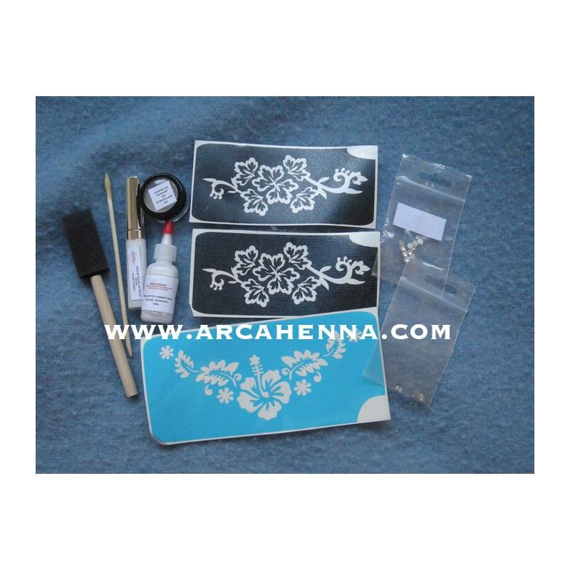 kit de tatouage paillettes mariage - Tatouage Paillette Mariage