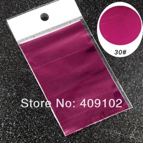feuille métallisée violet
