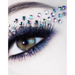 Eye rock cristal tatouage pour les yeux