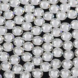 Sachet de strass en cristal 4.8 mm argent ss20