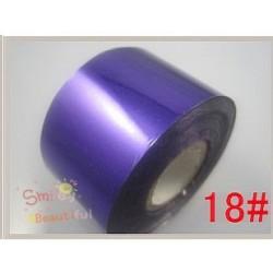 rouleau de feuille métallisée violet