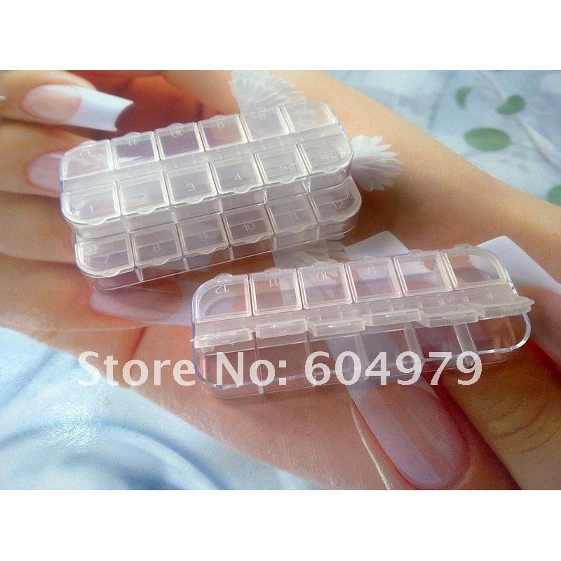 Bo te de rangement pour cristaux 12 compartiments arcahenna - Boite de rangement pour dressing ...