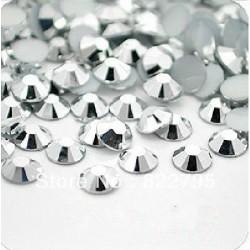 Sachet de strass en cristal 6.4 mm argent métallique ss30