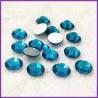 Sachet de strass en cristal bleu zircon