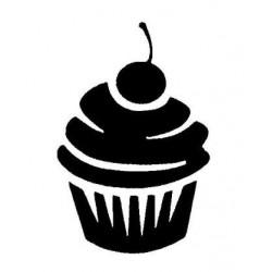 pochoir cupcake