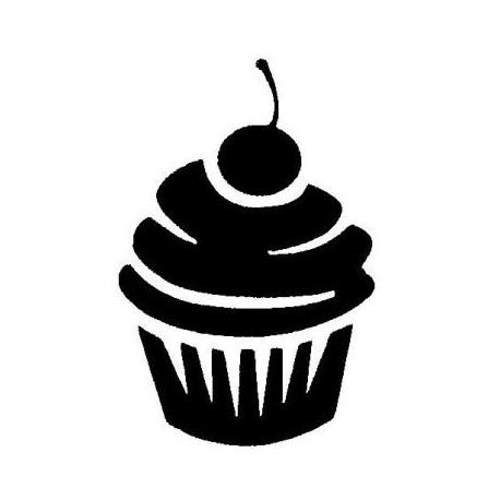 pochoir cupcake arcahenna muffins clipart muffin clip art border