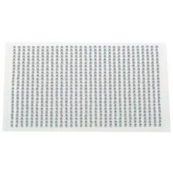 Planche de 1040 strass autocollants 3mm