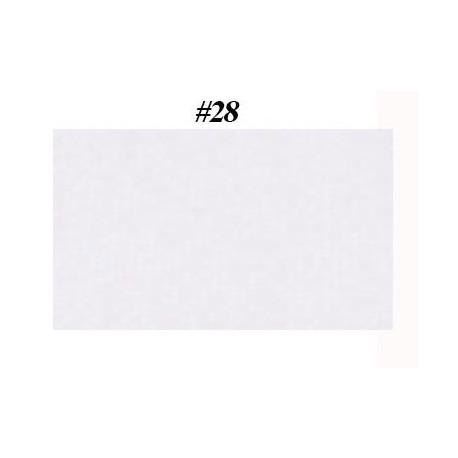 feuille métallisée blanc transparent holographique
