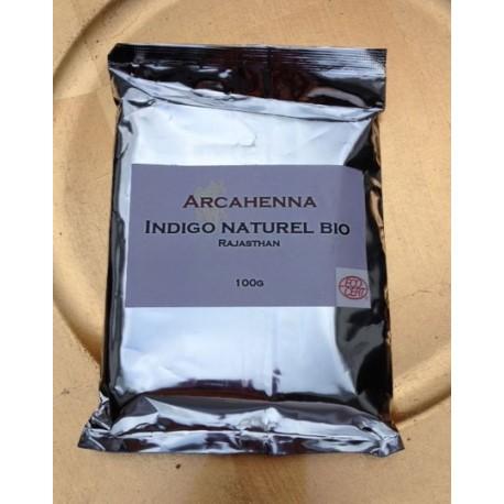 Lot de 10 Indigo naturel BIO en poudre 100g soit 1kg