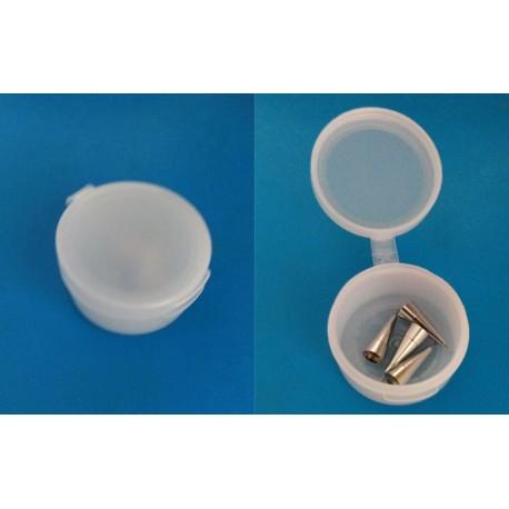 Boîte en plastique pour ranger vos embouts, paillettes, strass