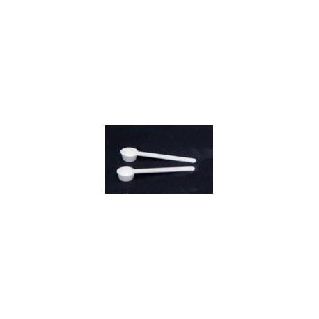 Petite cuillère en plastique pour paillettes, cristaux ou poudre
