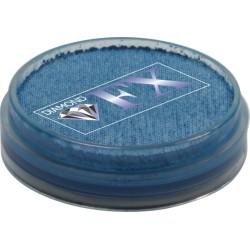 Fard à l'eau Diamond FX bleu métal 10g