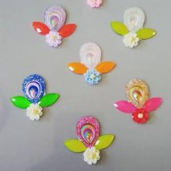 """5 Bijoux de front """"Reine des fleurs"""""""
