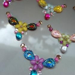 """5 Bijoux de front """"Fête des fleurs"""""""
