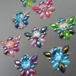 """5 Bijoux de front """"Princesses"""""""