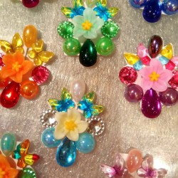 """5 Bijoux de front """"Carnaval"""""""