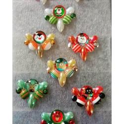 """5 Bijoux de front """"Christmas Candy"""""""