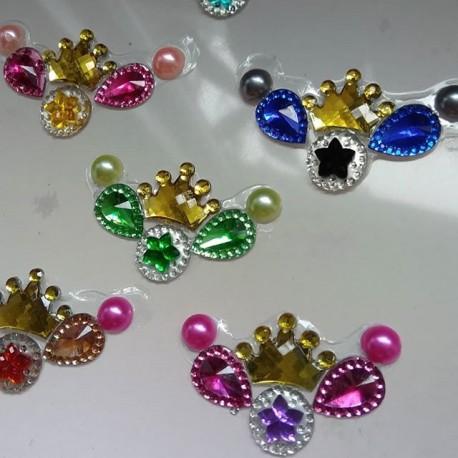 """5 Bijoux de front """"couronne"""""""