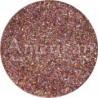 Flacon de paillettes cosmétiques extra-fine rose gold holographique 14g