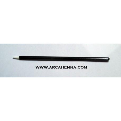 Applicateur fin en mousse pour l'encre temporaire ou la colle